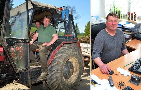 Z radnice do traktoru: Starosta nahradil údržbáře, na kterého nemá peníze