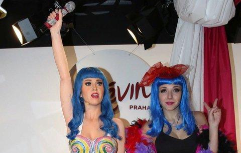 Anička Slováčková jako Katy Perry: V muzeu si ji pletli s voskovou figurínou!