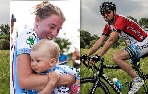 Honza jezdil na kole kvůli dětem s rakovinou do posledního dechu: Rakovina ho nakonec zabila
