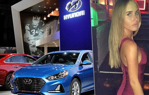 Modelka žaluje Hyundai. Vyhodili ji z práce, protože měla menstruaci