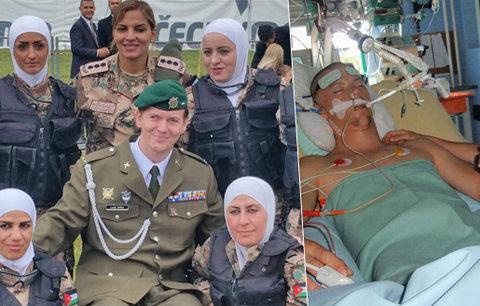 Vojáka Lukáše zranili v Afghánistánu: V mozku jsem měl střepinu z rakety!