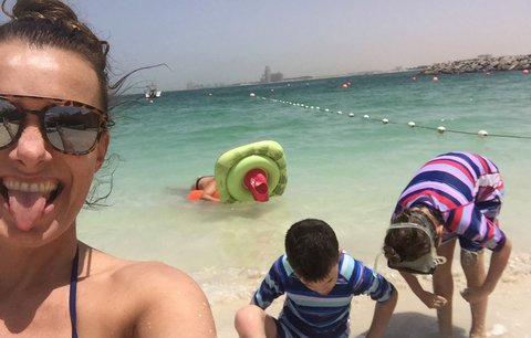 Alice Bendová na dovolené: All inclusive nesnáším, ale do stanu taky nemůžu