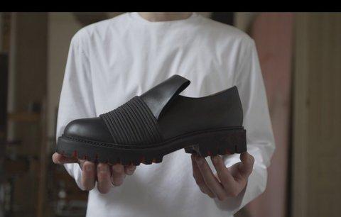 Český design: Mladý talent míří s návrhem bot rovnou do světa
