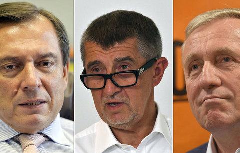 Rath, Babiš, Paroubek i Topolánek. Kteří politici neunesli otázky novinářů?