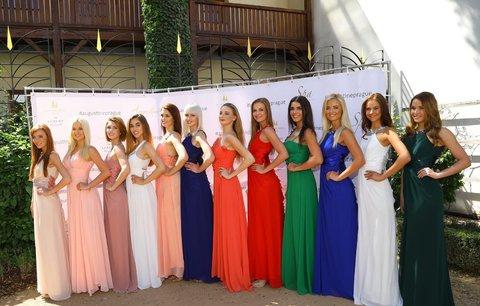 Prohlédněte si krásky z letošní České Miss. Která má podle vás šanci?