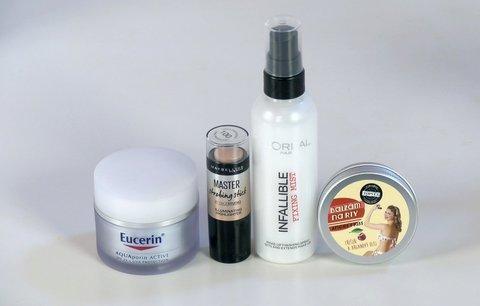 Vyzkoušeno před kamerou: Jak obstál fixační sprej na make-up?