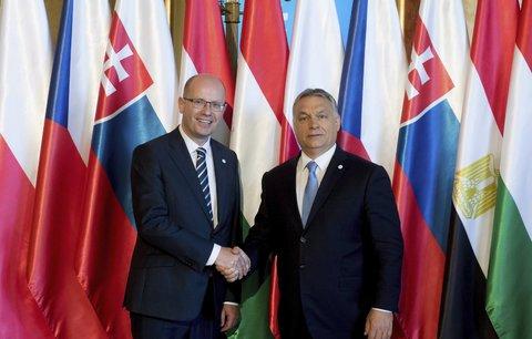 Sobotka ladil noty s Orbánem: Odmítáme kvóty, nedávají smysl