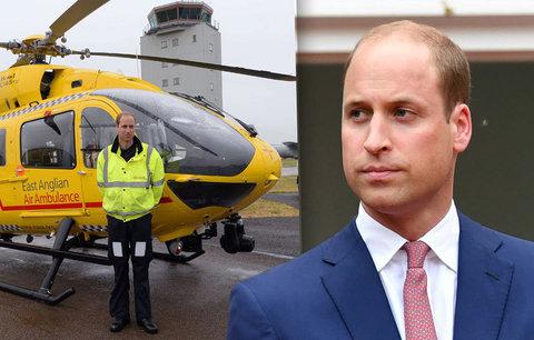 Zpověď prince Williama: Zavolali mě k sebevrahovi, pak jsem zachraňoval synovce mrtvého strýce. Teď u záchranky končí