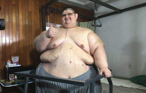 Nejtěžší muž světa zhubl 219 kilo. A po sedmi letech vstal z postele
