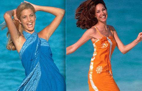 Naučte se správně vázat pareo: V letních vedrech nahradí sukni, šaty i deku u vody