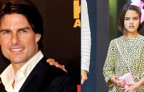 Dcera Katie Holmes a Toma Cruise: Nosí mašli, aby ji našli?