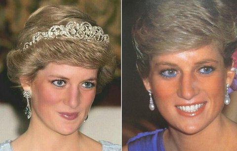 Modré linky, které nosila Diana, jsou zase v módě. Jak v nich zazářit?