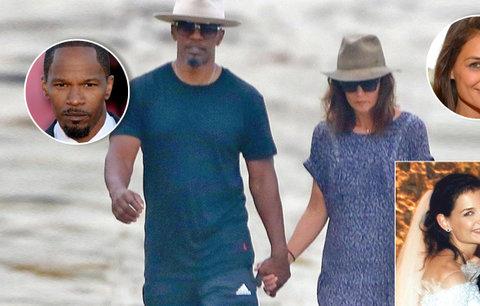 Katie Holmes má konečně náhradu za Cruise: Po letech potvrdila randění s Jamie Foxxem