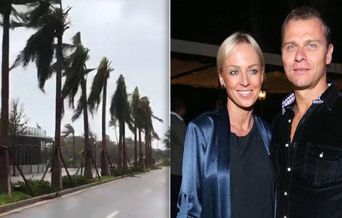 Belohorcová s rodinou v Miami: Odmítli utéct před hurikánem! Dům je bytelný, tvrdila