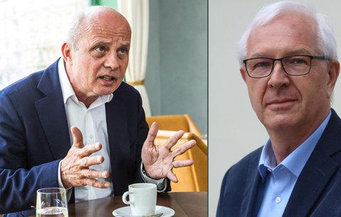 Střet Zemanových rivalů: Horáček chce dluhovou amnestii. Drahoš varuje před anarchií