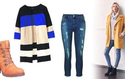 Podzimním trendům vévodí nedbalá elegance: Vsaďte na rozervané džíny s elegantními doplňky!