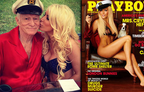 Po otci Playboye bude štědře dědit i vdova: Odkázal jí vilu a 112 milionů!