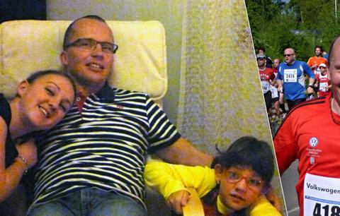 """Jiřího v 40 letech zasáhla mrtvice, teď zase běhá maratony. """"Nevěřil jsem vlastní rodině,"""" říká"""