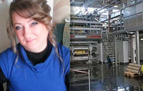Děsivá smrt v továrně: Natálie (†36) se uvařila v horkém karamelu