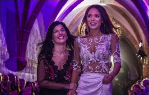 Modelka Gábina Dvořáková: Rozplakala se na přehlídce svatebních šatů