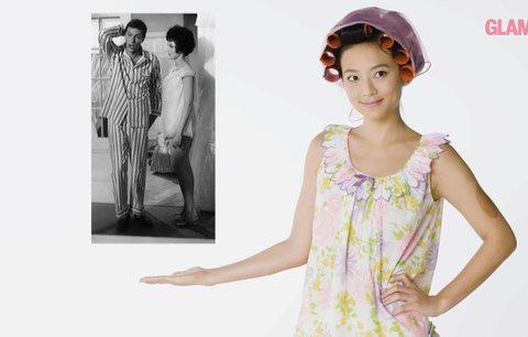 100 let pyžam: Kdy se nosily sexy košile a kdy se spalo v podprsence a kalhotkách?