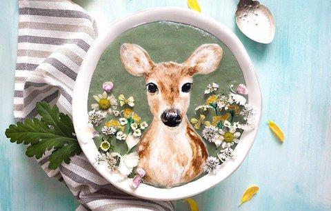 Neuvěřitelné! Tyhle obrazy vytvořila umělkyně z jídla!