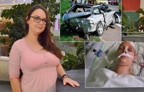 Veronika měla po nehodě 3% šanci na přežití: Kóma a poranění mozku