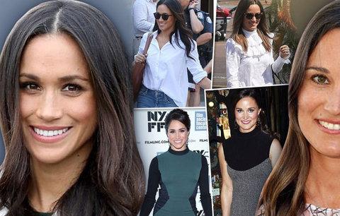 Jako by si z oka vypadly: Meghan Markle a Pippa Middleton by mohly být sestry!
