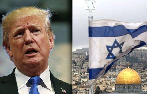 Ambasáda USA v Jeruzalémě už v květnu. Trump přitom tvrdil, že letos to nebude