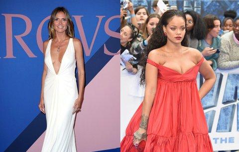 Celebrity milují velké výstřihy: Komu sluší nejvíc v roce 2017?