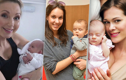 Sedm čerstvých maminek představuje: Můj nejkrásnější dárek!