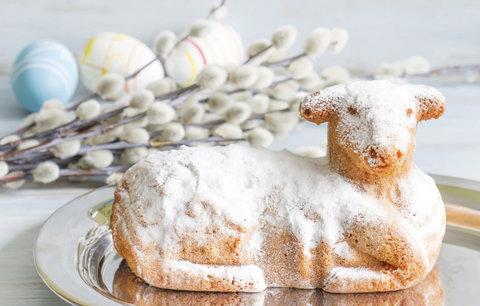 Nejlepší Velikonoční beránek: Vláčný z tvarohového těsta