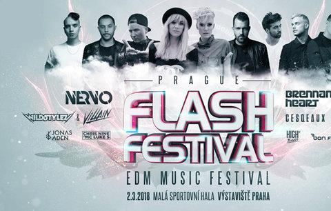 Hardstyle, trap i house pod jednou střechou. Prague Flash Festival opět sjednotí fandy EDM