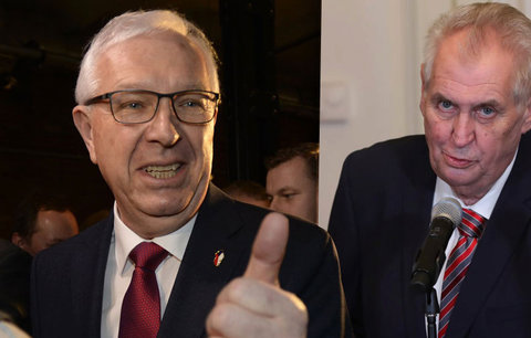 Drahošovi se Zemanem mohou přispět vyřazení kandidáti, potvrdil kontrolor kampaní