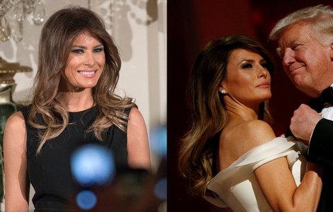 Poznávací znamení první dámy USA? Nepřítomnost.  Melania Trumpovo zvolení oplakala