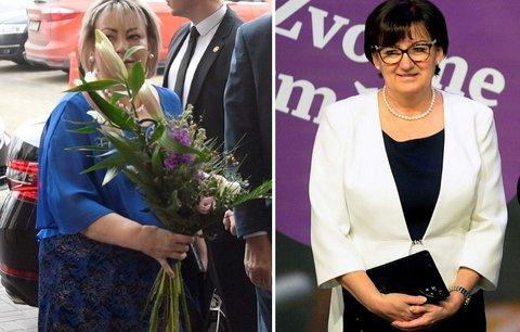 Módní policie: Ivana Zemanová v souboji stylu a elegance prohrála, ale první dámou zůstává