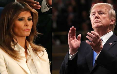 Melania a Trump mají kvůli nevěře těžkou krizi. Projev k národu ukázal hodně