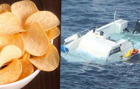 Samuel zůstal 16 dní uvězněný na moři. Přežil díky zásobě chipsů a sušenek