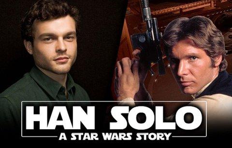 Hvězdné války mají další film! Podívejte se na trailer o mladém Hanu Solovi