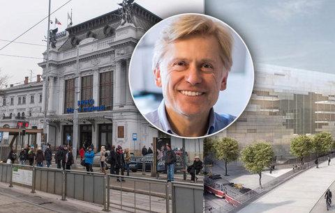 Hlavní architekt Brna: Přestěhujme nádraží k řece, město se znovu nadechne