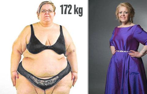 172kilová Silvia shodila 88 kilo a manžel ji opustil! Teď má zajíčka