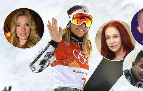 Slavní opěvují druhé olympijské zlato Ester Ledecké. Nečekané přiznání Bena Cristovaa!