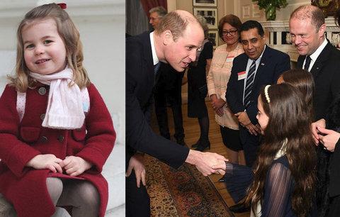 Princ William prozradil roztomilý detail o dceři! Co ráda dělá princezna Charlotte?