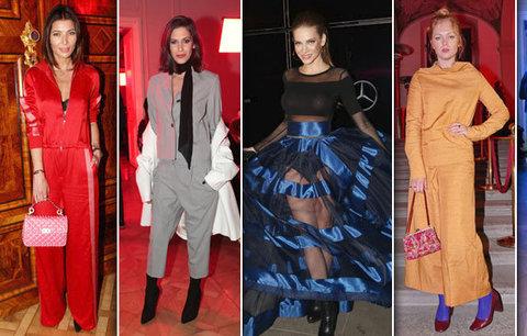 Týden módy v plném proudu: Ulítlé modely českých celebrit! Kdo vyčníval, kdo upadl v průměr?