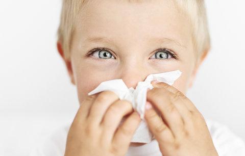 Nepřítel rýma: Proč je pro děti horší než pro dospělé?