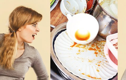 Drhne vám to ve vztahu i v posteli? Na vině může být mytí nádobí, odhaluje studie
