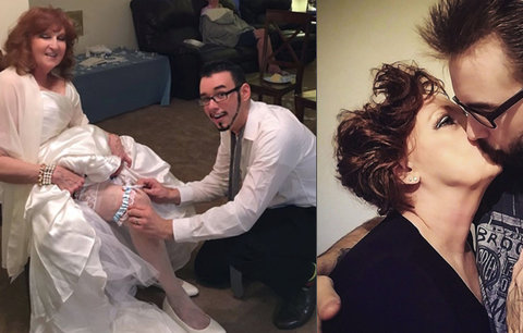 Mladík (19) se oženil s babičkou (73): Je to skvělá milenka! říká o své ženě