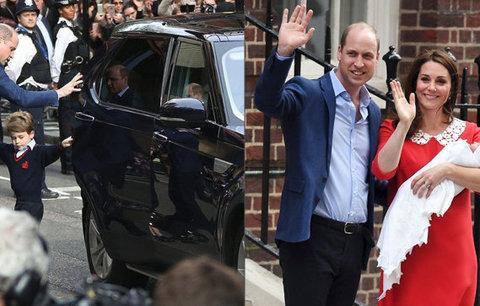 Nový potomek, nové auto! William s Kate dostali obří káru pro velké rodiny