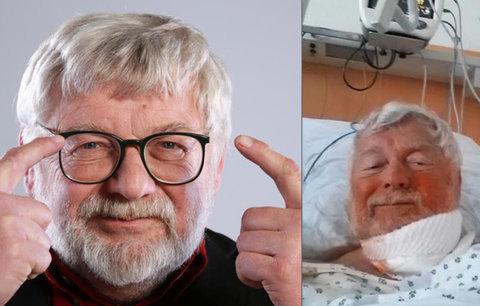 Náhlá operace Josefa Klímy (67)! Hvězda Primy skončila na sále!