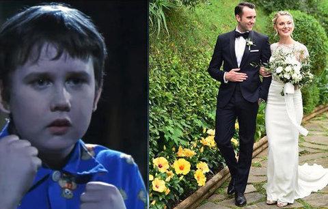 Otloukánek Neville z Harryho Pottera: Tajná svatba v Itálii!